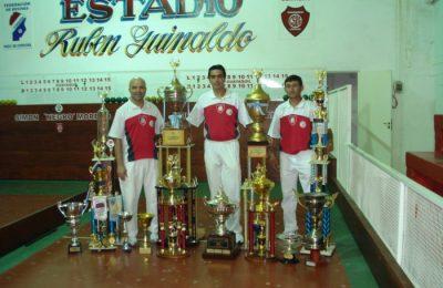 Meana, Apez y Arzuyaga. Guayaquil multicampeón.