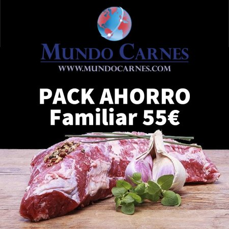 Pack ahorro familiar carne