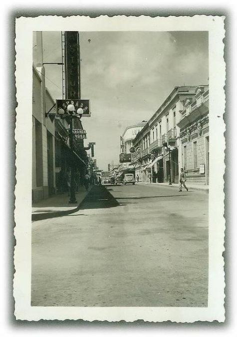 Foto por Facebook: Centro Histórico de Guatemala. La Sexta Avenida.