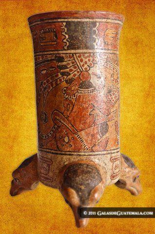 Ceramica maya foto por Maynor Marino Mijangos 2 - Galería - Fotos del Arte Maya