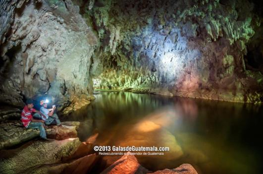 Cuevas del complejo Candelaria Jaguar, descubierto hace 4 años en Raxruhá, Alta Verapaz - foto por Maynor Marino Mijangos