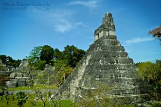 El Gran Jaguar en Tikal foto por Alberto Bolaños1 - El Gran Jaguar en Tikal - pirámide Maya