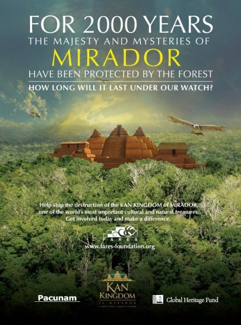 El Mirador Reino KAN - Fotos de Construcciones de los Mayas y sus Descendientes