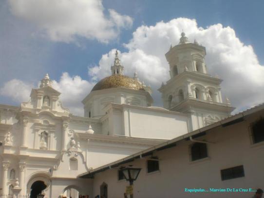 Esquipulas Church or Temple. Marvin de la Cruz