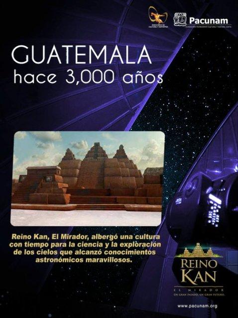 Guatemala hace 3000 años - El Mirador, Petén - Ciudad Maya