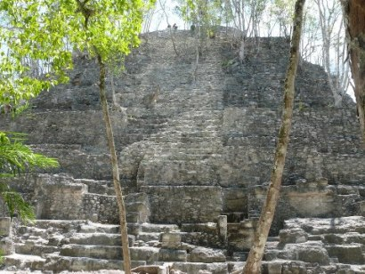 La Danta en el Mirador, Petén - foto por Ricky Sazo