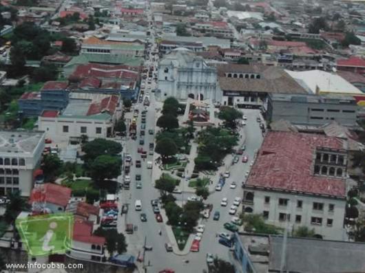 La bella ciudad de Carlos V Cobán Alta Verapaz. Fotografía de Manuel Ronaldo López Delgado - El Origen de Cobán, Ciudad Imperial