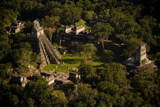 Tikal - foto por Ivan Castro Guatemala.