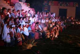 festival folklorico nacional 4 - Elección de Rabín Ajaw, La Hija del Rey – La Reina Indígena Nacional