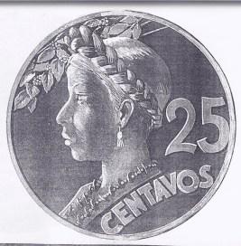 moneda2 - El Origen de la Moneda de 25 Centavos de Guatemala