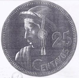 moneda3 - El Origen de la Moneda de 25 Centavos de Guatemala