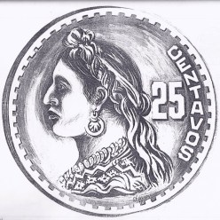 moneda4 - El Origen de la Moneda de 25 Centavos de Guatemala