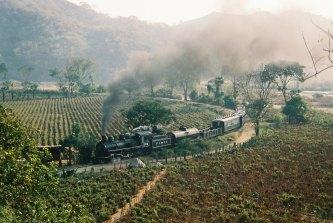 Ferrocarril camino al Sur de Guatemala - foto proporcionada por Coco Yambo