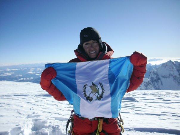 Andrea Cardona, alpinista