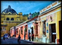 Antigua Guatemala, La Merced - foto por Dave Gt Rojas