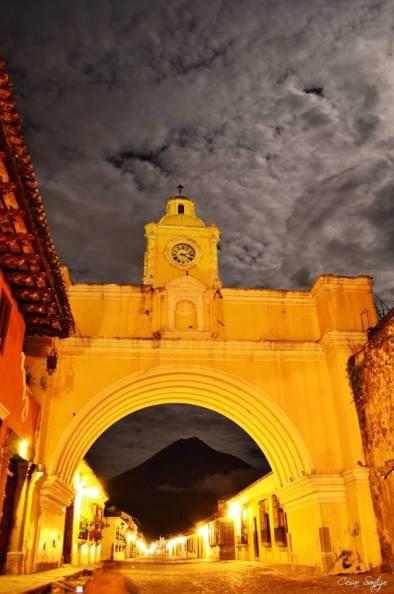 Arco de Santa Catalina Antigua Guatemala foto por Cesar Santizo - Galería - Fotos de La Antigua Guatemala