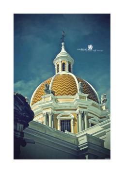 La Merced en el centro de la capital en Guatemala Fotografía de Cardenal Artvertising. - Galería - Fotos de Iglesias y Templos en Guatemala