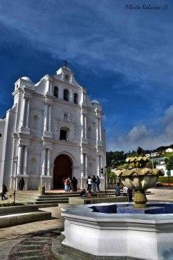 San Cristobal Totonicapán iglesia foto por Alberto Bolaños - Galería - Fotos de Iglesias y Templos en Guatemala