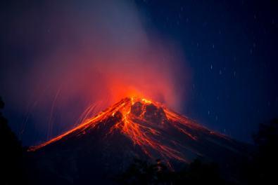 Volcanes 1 Volcan de Fuego Ivan Castro SUPER - Galería  - Fotos de Volcanes en Guatemala