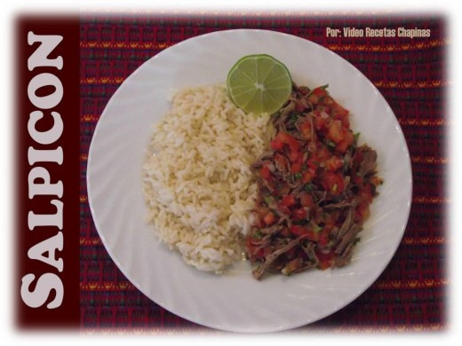 comida b14 Salpicon Video Recetas Chapinas e1358974254555 - Galería - Fotos de la Gastronomía Guatemalteca