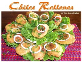 Chiles Rellenos - foto por Video Recetas Chapinas