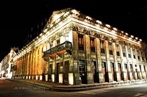 Palacio Municipal de Quetzaltenango foto por Rodrigo Motta - La ciudad de Quetzaltenango