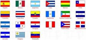Las banderas de la Hispanidad - Por hablemos13.bolgspot.com