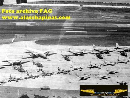 avio FAG 3 - El Origen de la Fuerza Aérea Guatemalteca FAG