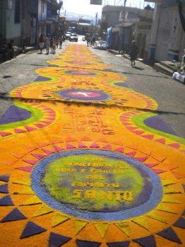 Alfombra Chiquimulilla Santa Rosa foto por Rolando Mijangos - Galería - Fotos de las Tradicionales Alfombras de la Cuaresma y Semana Santa