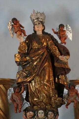 virgen de la asuncion 1 - El origen de la iglesia Nuestra Señora de la Asunción