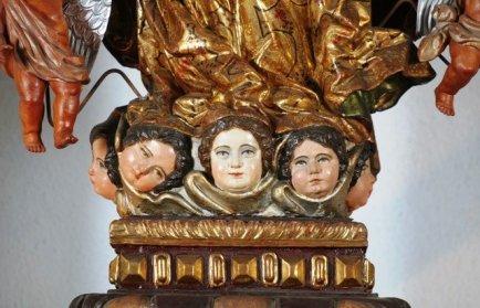 virgen de la asuncion 2 - El origen de la iglesia Nuestra Señora de la Asunción