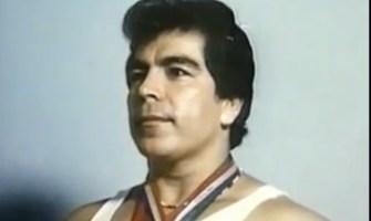 José Rolando de León, campeón de levantamiento de pesas