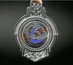 Medalla ganada por el campeon Jose Rolando de Leon