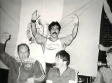 rolando de leon 17 - José Rolando de León, campeón de levantamiento de pesas