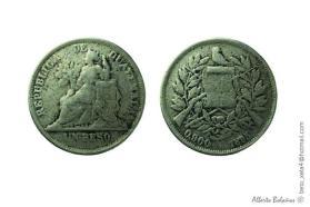 Moneda de Guatemala en 1895 un Peso foto por Beto Bolanos - El Origen de la Moneda en Guatemala