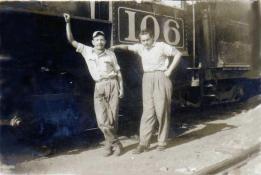 Trabajadores del Ferrocarril en Guatemala foto del recuerdo foto por Guillermo Gonzales - Galería – Fotos del Ferrocarril de Antaño en Guatemala