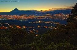Wassem Syed ciudad de Guatemala al atardecer. - Galería – Fotos de la Ciudad de Guatemala