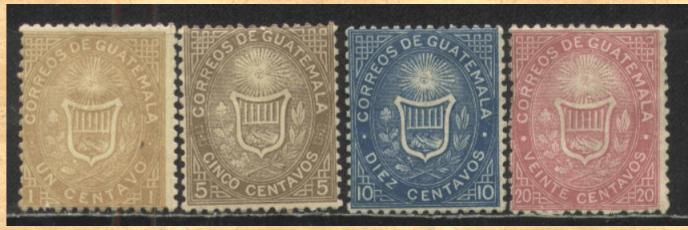 sellos postales 18711 - El Origen de La Primera Estampilla Postal de Guatemala