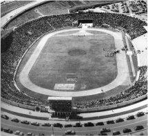 Estadio Mateo Flores - vista aerea