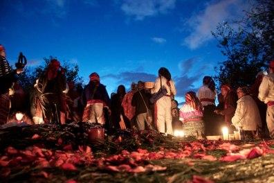 Baktun 13 celebrando en Kaminal Juyu foto por Pablo Estrada - Galería – Fotos de la Celebración del Baktún 13, Guatemala 2012