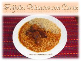 Video Por Recetas Chapinas y Más – Frijoles Blancos con Carne