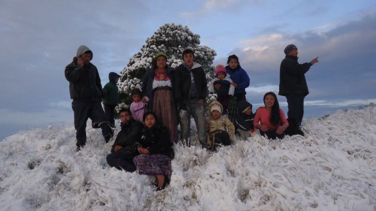 Nevada 4 Ixchiguan San Marcos 1 25 2013 3 Lino Martinez - Nevadas en Guatemala desde el año 2000