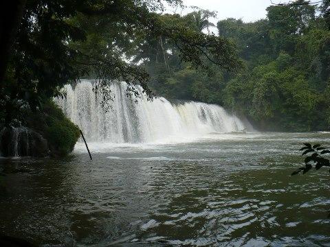 cataratas b7 Balneario Las Conchas Chahal AV Carlos Flores - Galería - Fotos de Cataratas y Cascadas en Guatemala
