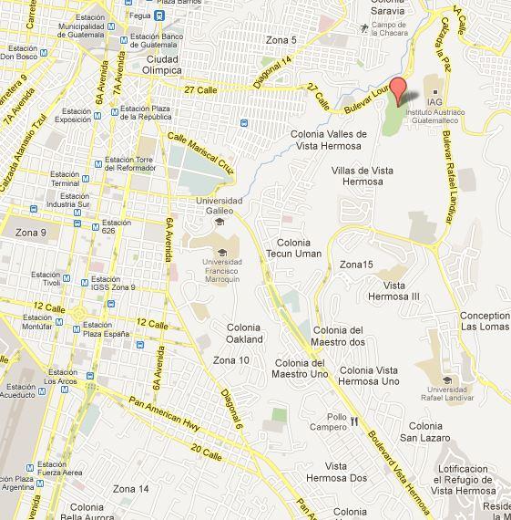 Mapa Ciudad Cayala b1 - Ciudad Cayalá en la ciudad de Guatemala