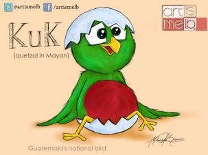 Arte Grafico - El Quetzal - por artismelb