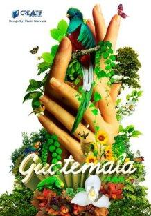 Arte Grafico - Guatemala Verde - Viva, Mágica y Ancestral - por Arte Grafiko Mario Guevara