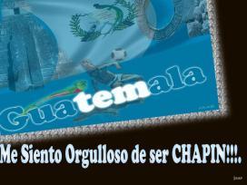 Arte gráfico de Guatemala - orgullo de ser chapin - por Jorge Alvarez