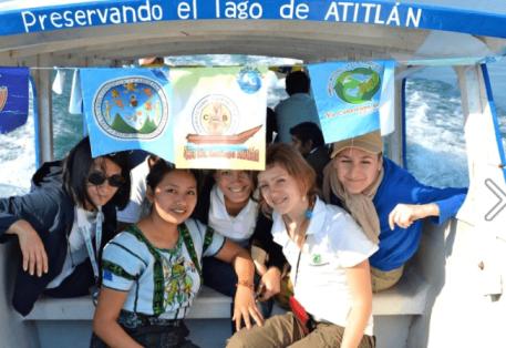 Lancha Azul Rose Di - Proyecto Lancha Azul - Una Iniciativa para la Preservación del Lago de Atitlán