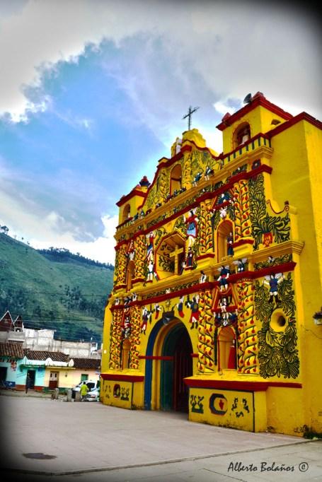 Iglesia de San Andrés Xecul Totonicapán - Alberto Bolaños