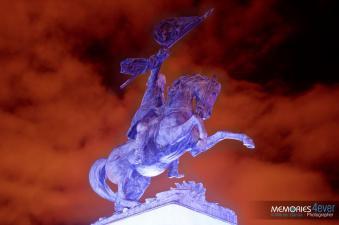 Monumento a Justo Rufino Barrios foto por Werner Garcia - Galería - Fotos de Monumentos, Estatuas y Esculturas en Guatemala